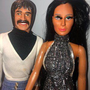 *SOLD* Sonny and Cher Vintage Barbie Dolls